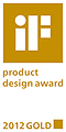 iF product design award 2012 GOLD