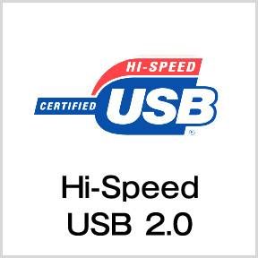 Hi-Speed USB2.0