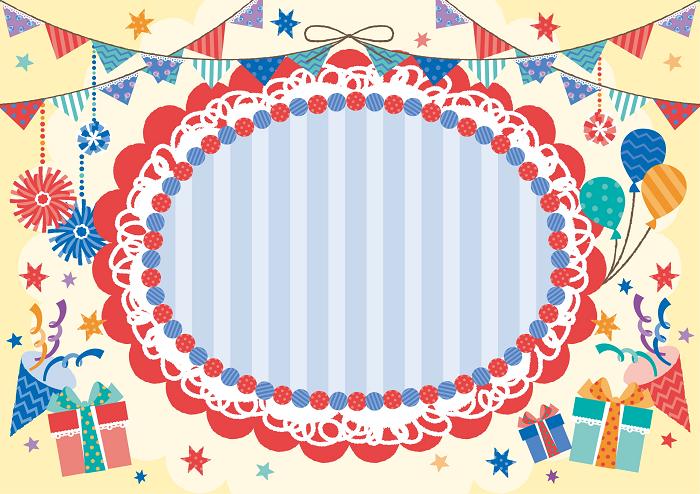 誕生日などのパーティーにプリンターを使って簡単に飾り付けしちゃ